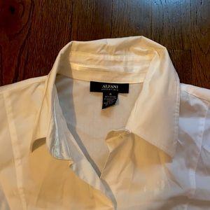 🤍Alfani: White Button Dress Shirt